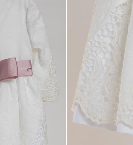 Vestidos marca blanco roto